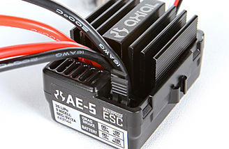 AE-5 ESC - They say this is 3S LiPo capable. You can also switch between LiPO and NiMh with a simple jumper.