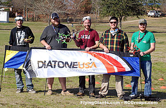 Diatone supplied prizes for this race.