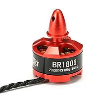 Name: 1806.jpg Views: 77 Size: 181.6 KB Description: Brand: Racerstar Item name: BR1806 2280KV Brushless Motor RPM/V: 2280KV Height: 26mm Width: 23mm Shaft diameter: M5 Motor mount hole size: M2 Weight: 20 grams Voltage: 1-3S Battery: 1-3S lithium polymer Max.current: 11.5A Max.power: 468W Internal resistan