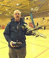 Name: DSCF1722.jpg Views: 134 Size: 195.3 KB Description: 1/48th scale Lancaster after painting.