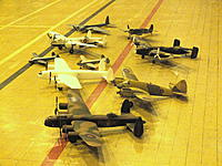 Name: Indoor Warbirds Nov 12 005.jpg Views: 135 Size: 285.4 KB Description: Selection of indoor models at our monthly meeting mine is white one before painting