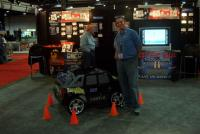 Name: IM001261.jpg Views: 231 Size: 85.5 KB Description: Castle Creations Booth.  and yes that car is fully RC and hits about 25 indoors...stereo sounds good too.