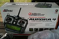 Name: Hitec Aurora 9 with 9 Channel Receiver.jpg Views: 53 Size: 123.7 KB Description: