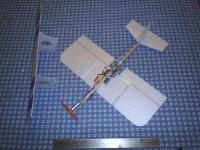 """Name: Mini Go Bipe pic2.jpg Views: 806 Size: 96.4 KB Description: Wing off, to show the """"guts"""".  I used a """"tab"""" system to allow for easy on / easy off wing attachment.  Works pretty well so far!"""