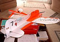 Name: GEEBEE01.jpg Views: 104 Size: 95.5 KB Description: My GeeBEE design - 36 in. 1 in foam airfoil wings. Flew great!