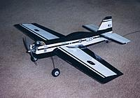 Name: Mini Sukhoi.jpg Views: 119 Size: 275.2 KB Description: 36 Inch Sukhoi from 1994 MAN plans. Built in 2004, flew with nitro - very hot! Now in line for electric power.... soon.