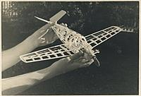 Name: Bonanzasmall.jpg Views: 105 Size: 38.3 KB Description: Around 1949. 049 control line bonanza. Modded from Comet(?) kit. Alexandria VA