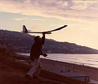 Name: AQ Slope nightsm.jpg Views: 65 Size: 69.5 KB Description: Aquila, sloping at Redondo Beach Ca, evening - the most fantastic time to fly!