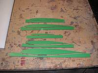 Name: Blanik build 006.jpg Views: 488 Size: 70.5 KB Description: Wing and tail template made from formica sprayed with 3m 77 and attached to the core and there good for the cut no nails required