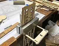 Name: FC34B558-1B16-4589-A85C-78279B2D23D3.jpeg Views: 9 Size: 1.79 MB Description: Using the edge of my building table and the blocks