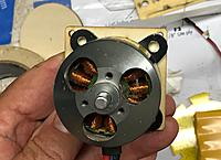 Name: IMG_3483.jpg Views: 3 Size: 283.1 KB Description: The E-Flite 46 fits on the base plate for the kit electric motor mount
