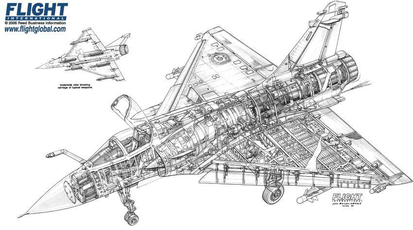 Attachment browser: Dassault Mirage 2000 5 cutaway.jpg by