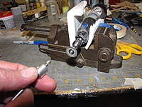 Name: IMG_2618.jpg Views: 149 Size: 92.5 KB Description: Dremel in a small vise with foam jaws, makes a good little drill sharpening bench grinder.
