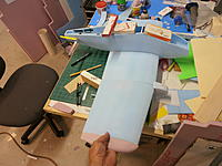 Name: P9071208.jpg Views: 80 Size: 179.7 KB Description: Half the wing, mockup to show size with tip included.