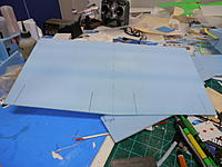 Name: P9091228.jpg Views: 60 Size: 156.6 KB Description: Marking wing for center and flap locations,