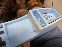 Name: P9091229.jpg Views: 55 Size: 127.7 KB Description: Did some balsa plates for front of wing to add some wear resistance and strength. Skewer is my drill for dowels in wing and fuselage.