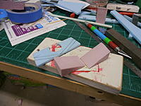 Name: P9271285.jpg Views: 102 Size: 174.1 KB Description: Made some foam blocks for mounting the nacelles.