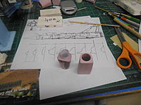 Name: PB181700.jpg Views: 142 Size: 181.7 KB Description: Tailpipe and fan/thrust tube about to be glued and joined.