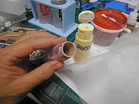 Name: PB181704.jpg Views: 173 Size: 172.7 KB Description: Some reinforcement added using Silkspan Tissue, and Glue.