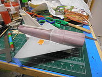 Name: PC041790.jpg Views: 154 Size: 209.7 KB Description: Tail fin glued on and ready for finishing.