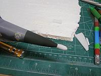 Name: PC111844.jpg Views: 124 Size: 159.1 KB Description: Nose cone foam bumper explained in text.