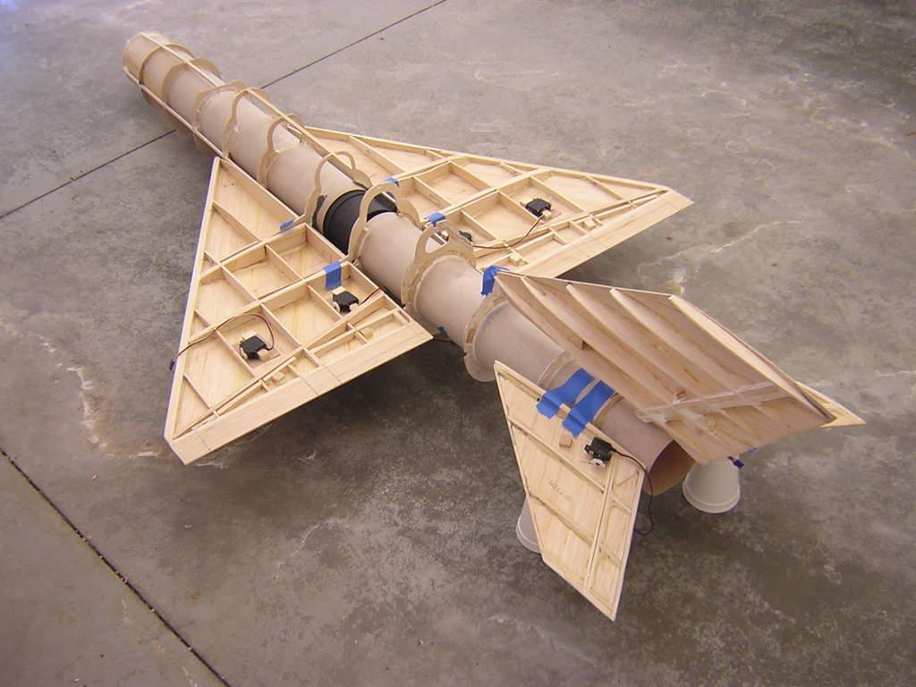 Rc wing design