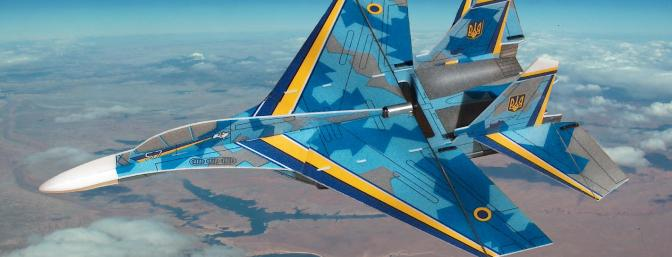 Another fantasy Ikarus Su-27 sortie over the Colorado River at 40,000 feet