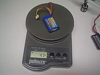 Name: MQX Payload Test (4).jpg Views: 68 Size: 176.6 KB Description: 47g lipo.. The mqx didnt like this much weight.