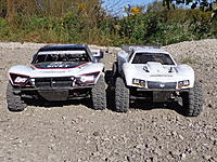 Name: Losi 5ive T And Baja 5 ScT Size Comparison (4).jpg