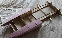 Name: IMG_2483.jpg Views: 192 Size: 111.3 KB Description: Bottom decking (1/32nd plywood) and foam in the sponsons