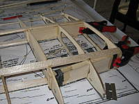 Name: IMG_3145.jpg Views: 378 Size: 60.4 KB Description: The boxes are in place and epoxied.  The spars are not parallel, but the boxes need to be.
