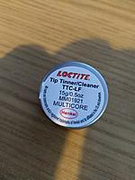 Name: IMG_20210518_205957.jpg Views: 42 Size: 3.39 MB Description: Loctite Tip Tinner.