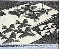 "Name: BlueBirds.jpg Views: 73 Size: 34.5 KB Description: ""The Blue Birds"" by Ken Willard, Model Aviation Magazine, Dec. 1978."