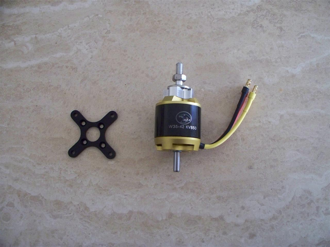Name: wp motor and x mount.JPG