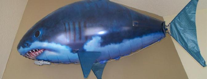 Air Swimmers Remote Control Flying Shark Review