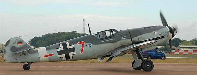 The full-scale airplane represented by the model is shown here on the tarmac at a European air show.  (Photo:  Wikimedia Commons)