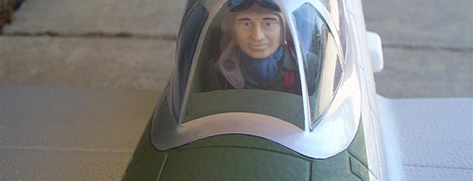 """""""Steve"""" is ready for his first sortie."""