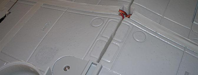 """After some work needed to clean some glue out of two of the blind nuts, the """"Main Wing Fixed Parts"""" along with the """"main wing"""" are shown in place."""