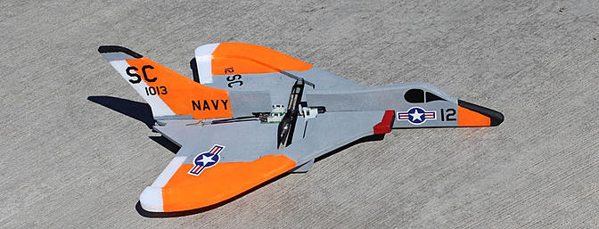 Review Sawn Craft Micro F-4D/F-6 Skyray Kit Review - RC Groups