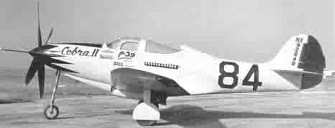 Historic photo of <i>Cobra II</i>.  Note the extra long pitot tube extending from the spinner where the machine gun used to be.  (Photo:  Mission4today.com)