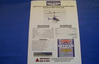 The full color manual is a wealth of information no matter how much helicopter experience you have.