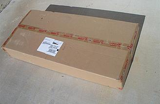 Like the Gee Bee before it, the BF-109 arrived in a very sturdy shipping carton.