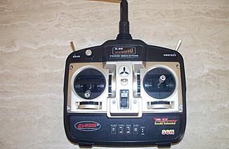 If one were to purchase the RTF, this is the transmitter it would come with.  This is the unit from the BF-109.