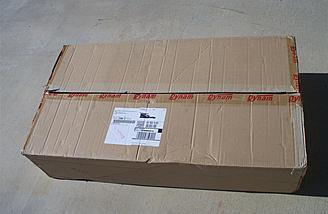 All Dynam models come shipped in a heavy duty, factory sealed shipping box.