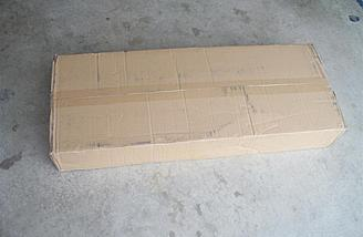 I've said before that large brown cardboard boxes like this make me smile when they arrive.