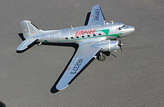 Review HobbyKing DC-3/C-47 PNP Review - RC Groups on