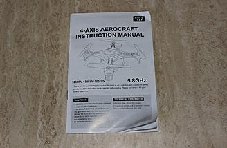 "The cover of this ""aerocraft's"" instruction manual..."