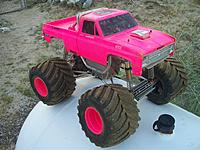 Name: clod and body together.jpg Views: 99 Size: 121.1 KB Description: Here's the Clodbuster with the body in place.  Very, very pink...but in place.