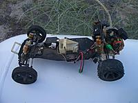 Name: rc10 flat left.jpg Views: 60 Size: 102.3 KB Description: Left view of the RC10 flat chassis car.