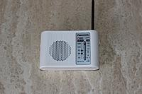 Name: radio front.JPG Views: 48 Size: 313.0 KB Description: Here's the radio powered up and tuned in!  The illuminated LED power indicator can be seen.